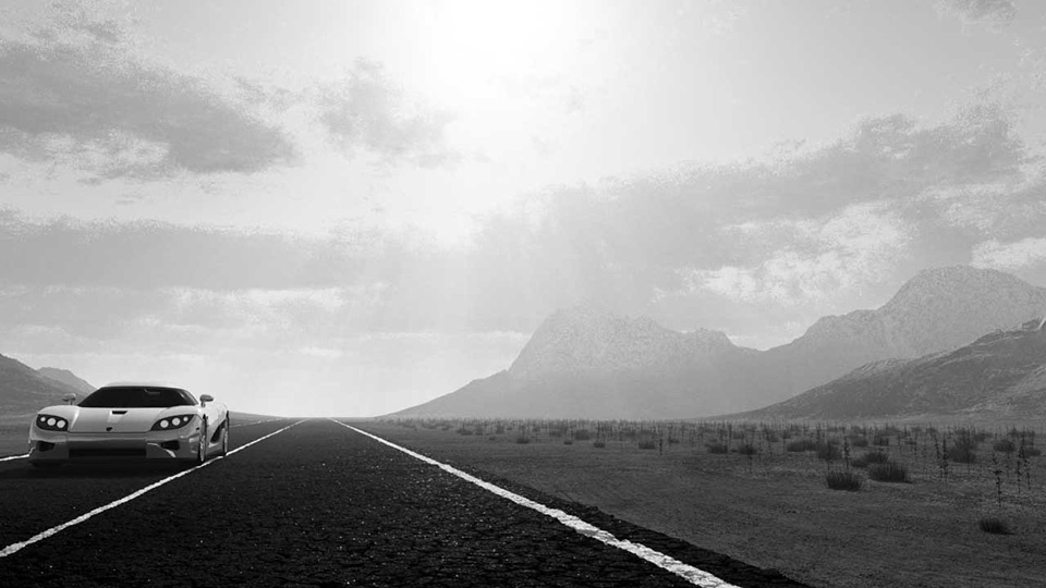 Bastien's Road Montain by Bastien